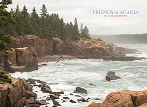Friends of Acadia 2014 Annual Report cover