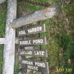 120_Special offerings_CR sign_Seal Harbor- Bubble Pond-Around Lake- JPH