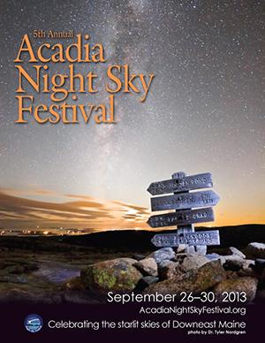 2013 Night Sky Festival Poster