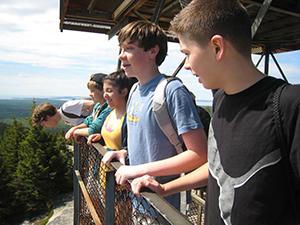 On Beech Mountain