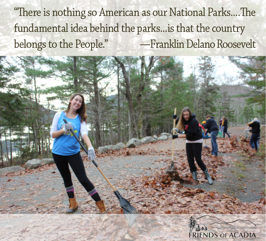 There is nothing so American as our National Parks.... The fundamental idea behind the parks...is that the country belongs to the People. -- Franklin Delano Roosevelt