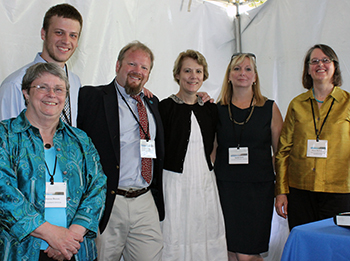 Friends of Acadia staff at the 2013 benefit event