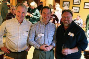 David MacDonald, Kevin Schneider, and Scott Worcester