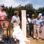 The Acadia Trails Forever partnership is inaugurated in 1999
