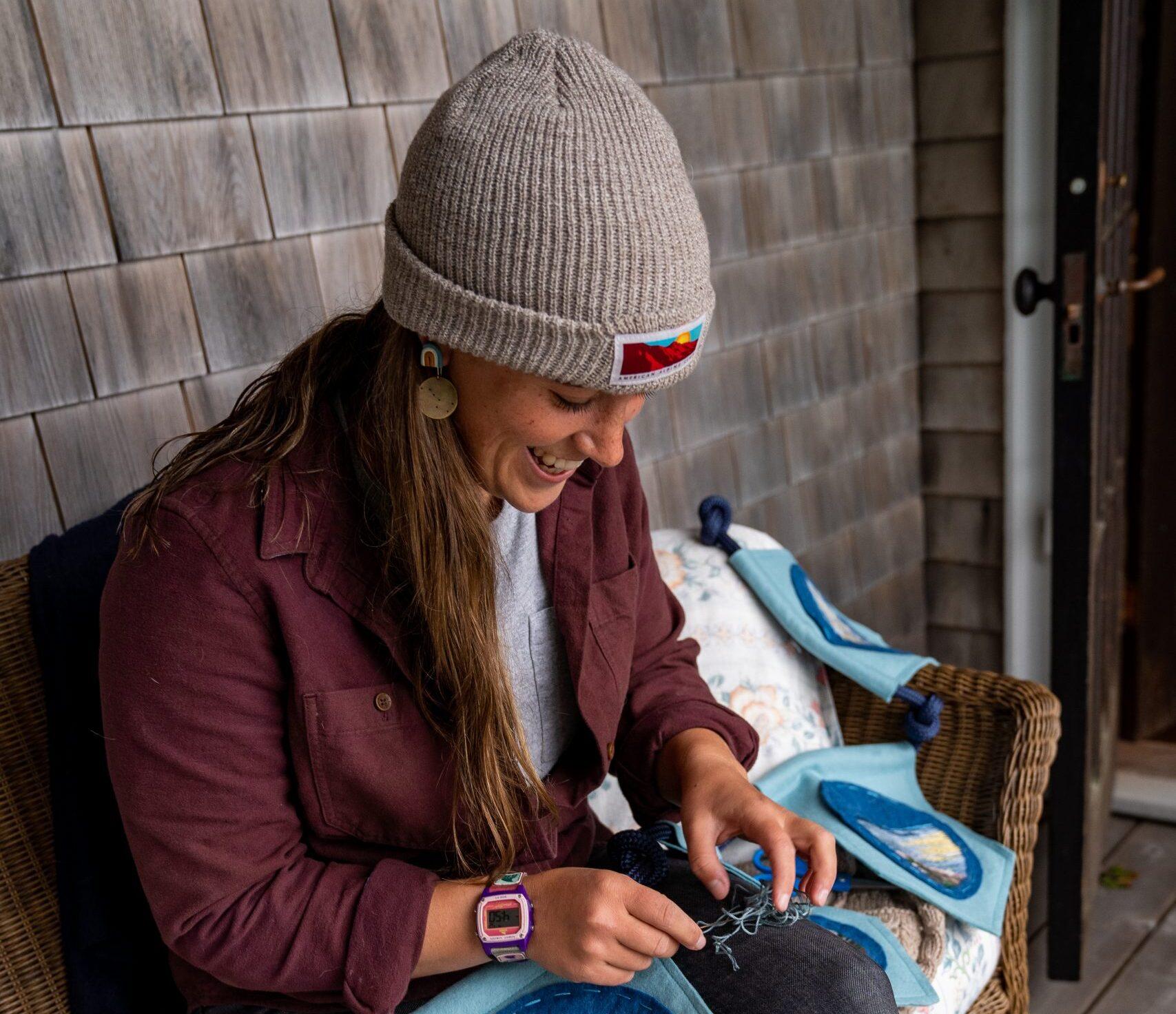 Emma Longcope: Stitching Art and Outdoors