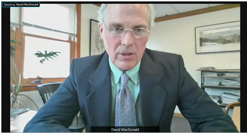 MacDonald Testifies before US Senate Committee on Energy and Natural Resources