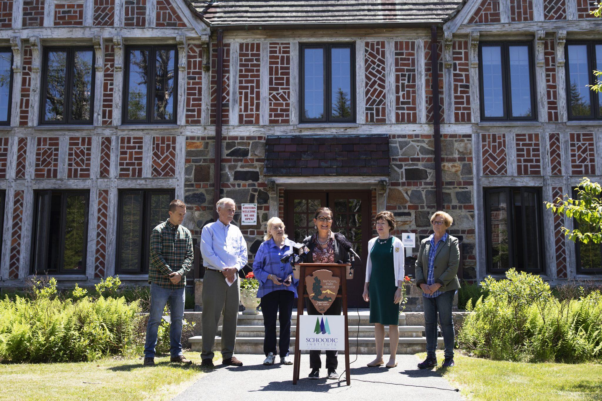 Acadia is Secretary Haaland's First US Park Visit